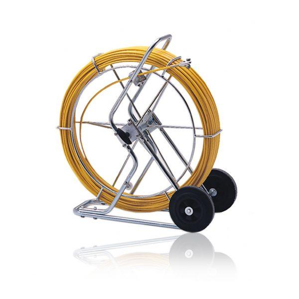Trekkefjær Pipe Eel Ø11 mm med søketråd 150 meter