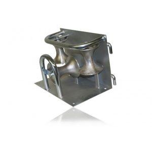 Kabeltrinse for hjørne, aluminium