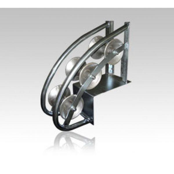 Kabeltrinse for innføring i kummer/kabelsjakter