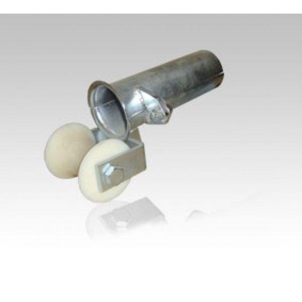 Kabelinnløp, sammenleggbar, med rulle hengslet,  galvanisert stålkonstruksjon for styring av kabler, hjelpe- og vinsjer